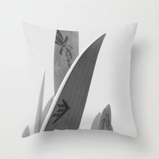 Surf Boards #2 Throw Pillow