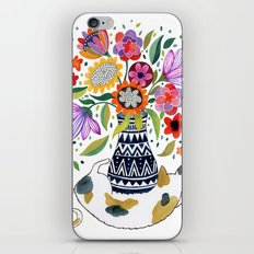 Calico Bouquet iPhone & iPod Skin