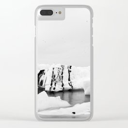 Glacier Lagoon Clear iPhone Case