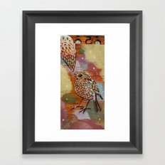 Bird Song Framed Art Print