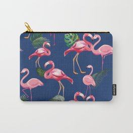 Flamingos Love Pattern 8 Carry-All Pouch