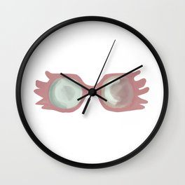 Magic cute Lovegood Glasses Spectrespecs Wall Clock