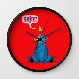 CHIRP! Wall Clock