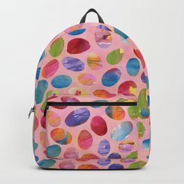 Painted Eggs Backpack