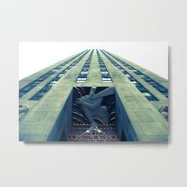 Rockefeller Metal Print
