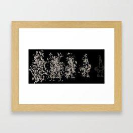 Gallos Framed Art Print
