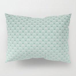 Geometric #turquoise #pattern #monochrome Pillow Sham
