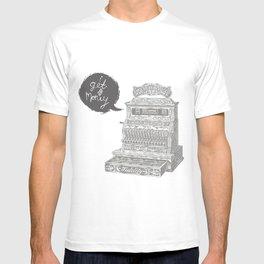 cash register T-shirt