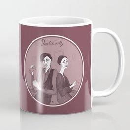 Dostoevsky Poor Folk 1846 Coffee Mug