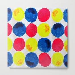 Circle of Colors Metal Print