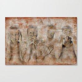 hidden ! Canvas Print