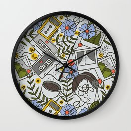 All the Reasons Why | Mixtape Art Wall Clock