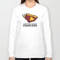 nfl Long Sleeve T-shirts featuring Arizona Sandcrawlers - NFL by Steven Klock