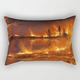 Lighting the Night Rectangular Pillow