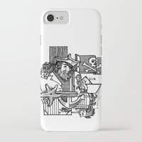 pirate iPhone & iPod Cases featuring Pirate by María Nikólskaya