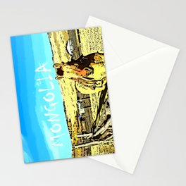 Mongolia Horse Treks (at Mountain Rubia) Stationery Cards