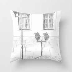Bakerstreet Throw Pillow