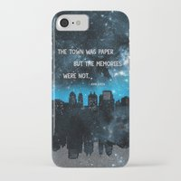 john green iPhone & iPod Cases featuring Paper Towns John Green  by denise