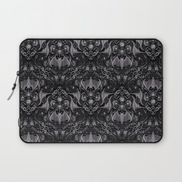 Bats And Beasts - Black and Gray  Laptop Sleeve