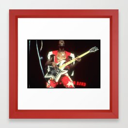 Ah, the Name is Bootsy, baby Framed Art Print