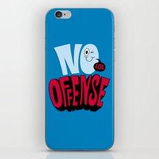 No Offense iPhone Skin