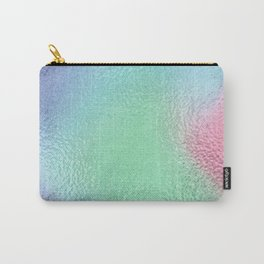 Simply Metallic in Holographic Rainbow Carry-All Pouch
