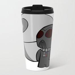 Vader & the Death Star Metal Travel Mug