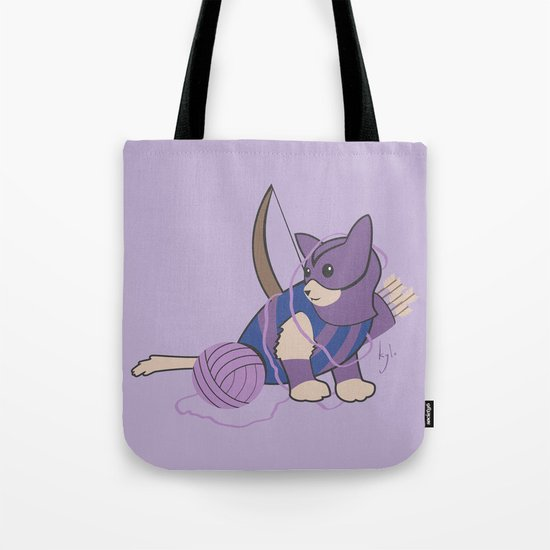 Cateye of the Catvengers Tote Bag