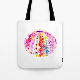 Vibrant Sea Urchin Tote Bag