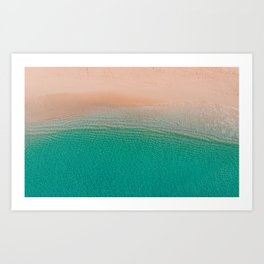 5 o'clock; and there's a beach somewhere! Art Print