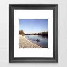 Ticino River Framed Art Print