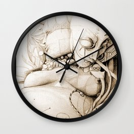 Visitation to the holiness    Mask    Holy    Snake Wall Clock