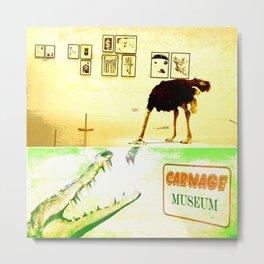 Carnage Museum Metal Print