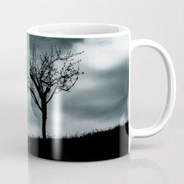 Alone tree before the storm Coffee Mug