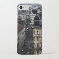 vienna iPhone & iPod Cases featuring Vienna 01 by Mi Nu Ra
