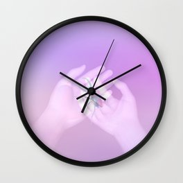 Summer Memory Wall Clock