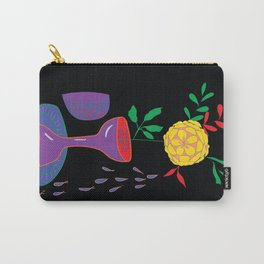 Vivid Still Life Carry-All Pouch