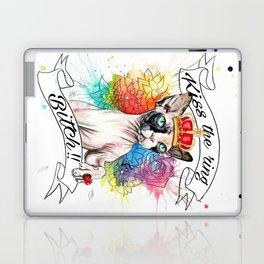 Kiss the ring Bitch Laptop & iPad Skin