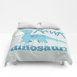 RAWR I'm a Dinosaur! Comforters