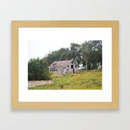 The Old Farm Framed Art Print