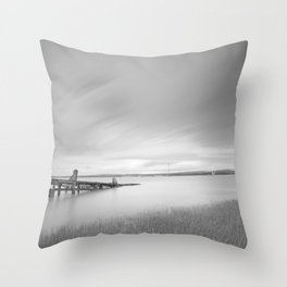 The Old Slipway Throw Pillow