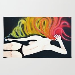 Wake N' Bake, Smoking Lady Series Rug