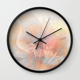 Floral Astract Wall Clock