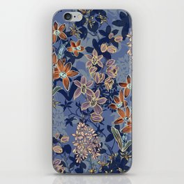 Blue Orchids iPhone Skin