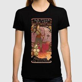 La fille du feu T-shirt