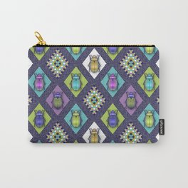 Scarabs Quilt Carry-All Pouch