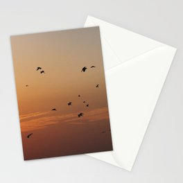 migrating birds Stationery Cards