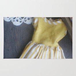 Yellow Dress TTV Rug