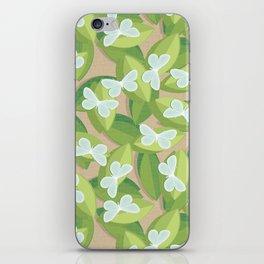 Wood White iPhone Skin