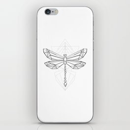 Polygonal Dragonfly iPhone Skin